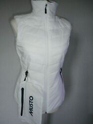 MUSTO  EVOLUTION  Women's  Vest  Size  - 8 New With Tags