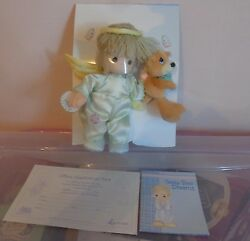 New 2000 Precious Moments Limited Edition Collectible Angel Doll And Bear
