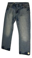 LRG Lifted Research Group Mens Blue Jeans Look 38  Has Sensor Attached $7.99
