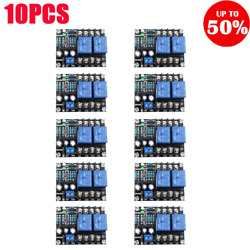 Upc1237 Dual Channel Speaker Protection Circuit Board Dc 12-24v Boot Mute Delay