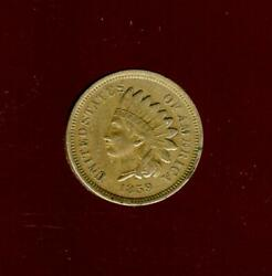 1859 Indian Head Cent | Extra Fine | First Year Type Coin | Cp2766