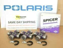 Polaris Rzr Xp 1000 2015-2018 Front And Rear Drive Line Prop Shaft U-joint Kit