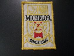 Michelob Light Dry Golden Since 1896 Patch Sew On Craft Beer Brewing Brewery