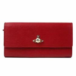 Second Hand Vivienne Westwood  Vivien Safi Arno Leather Cover Type Long Wallet
