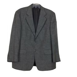 Vito Rufolo Italy Soft Silk/linen/wool Menand039s 42s Gray 2 Buttons Sport Jacket