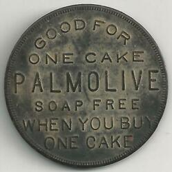 Good For One Cake Palmolive Soap Free Palmolive-peet Chicago Token / Coin