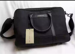 AUTHENTIC Burberry Black Travel Bag With Strap $799.99