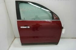 2010-17 Gmc Acadia Passenger Front Right Door Vin J 11th Digit Limited Red