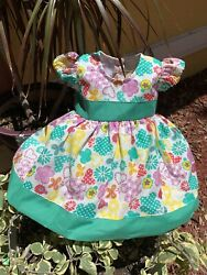 Handmade, Little Girls Dresses, One Of A Kind, Size 4-6 Months