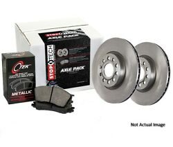 Eeuroparts Oe Replacement Metallic Rear Disc Brake Pad And Rotor Kit