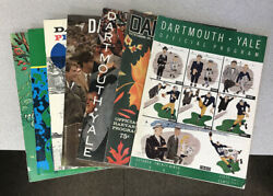 Lot Of 21 Different Dartmouth Football Game Programs 1949-1969
