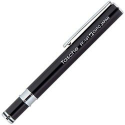 Ohto Tasche Black Fine Point Fountain Pen - Ff10t-bk Office Products