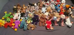 Ty Beanie Babies Lot/collections - Rare Tag Errors- 52 Bears. Beanie Babys