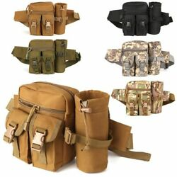 Outdoor Utility Tactical Waist Fanny Pack Pouch Military Camping Hiking Belt Bag $15.99