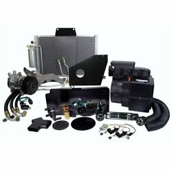 1967-1972 Chevy Pickup Electronic In-dash Full Heater Kit W/ Factory A/c Control
