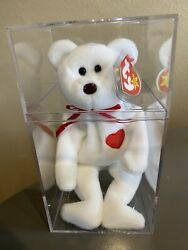Ty Beanie Babies Valentino Brown Nose Some Tag Errors