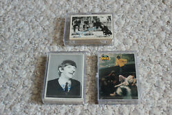 The Beatles Collector's Trading Cards - 81 Cards Total With 3 Hardshell Cases