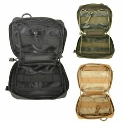 Tactical Molle Utility Pouch Military Admin Tool Bag Pocket Organizer Camping