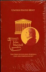 One Us Mint Sealed 2005 John Marshall Coin And Chronicles Set Num4720