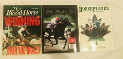1996 Breeder's Cup Magazines Cigar Horse Racing On Cover - Lot Of 3