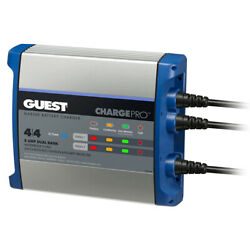 Guest 2707a Marine Boat On-board Battery Charger 8a / 12v - 2 Bank - 120v Input