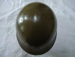 WW2 Former Japanese Army Iron Helmet junk Free Shipping from Japan M2969