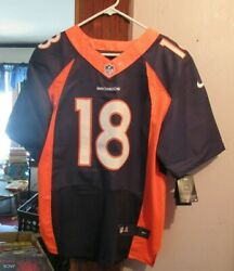 Peyton Manning Denver Broncos On Field Size 44 Purple Jersey New With Tag
