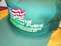 1998 Nos New Vintage Ntpa Snapback Trucker National Tractor Pulling Championship