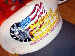 2002 Nos Ntpa Snapback Vintage Trucker National Tractor Pulling Championship New