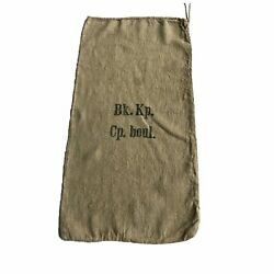 Wwii Era German Burlap Sack 100 Burlap Twine Ideal For Sew And Craft Project
