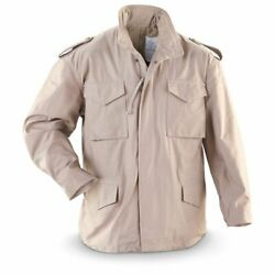 Alpha Industries M65 M-65 Military Field Jacket Coat Nyco Us Made