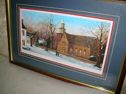 Williamsburg Limited Edition Print Just Mommy And Me M.a.vessey