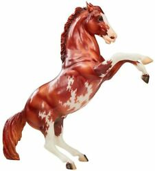 Breyer Traditional 70th Anniversary Model Fighting Pinto Stallion In Hand