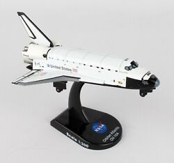 Daron Nasa Postage Stamp Space Shuttle Atlantis 1300 Scale Die-cast Ps5823-1