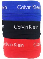 Calvin Klein Men#x27;s 3 Pack Underwear Cotton Stretch Boxer Brief Trunks $21.99