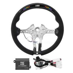 For M Performance Suede Led Race Digital Display Steering Wheel For M3 F80 F20