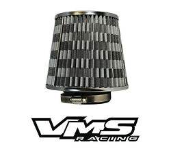 Vms Racing 3 Inch Air Intake High Flow Air Filter For Mazda Rx7 Rx8 13b