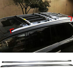 Oem Aluminum Alloy Roof Luggage Rock Rail Fits For Lexus Lx570 2016-2020 1 Pair