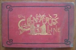 Cunard - History Book Issued For Chicago World's Fair 1893 Deck Plans And Photos