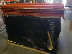 Warehouse Racking set *GENTLY USED* ......Support Posts Beams and Decking!!!