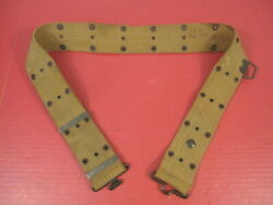 Wwi Us Army Aef M1912 Cavalry Pistol Belt W/saber Ring Mrkd Russell 1918 Nice 2