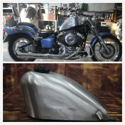 9l Motorcycle Fuel Tank For Yamaha Dragstar 400 540 650 And Gas Cap Mo