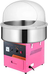 Tabletop Commercial Electric Cotton Candy Machine Sweet Sugar Floss Maker New