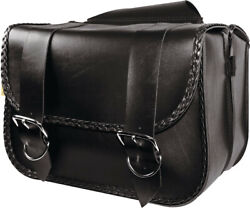 Willie And Max Braided Series Large Straight Saddlebags 58330-20