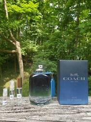 Coach for Men Blue NEW 2020 Release ** Decants ** $10.50