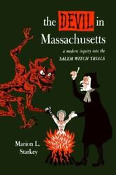 The Devil In Massachusetts, Like New Used, Free Shipping In The Us