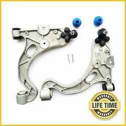 2x Front Lower Control Arm Ball Joint Set For 1998-2005 Buick Pontiac Cadillac