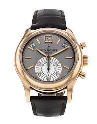 Patek Philippe 5960R 18K Rose Gold Automatic Chronograph Mens Watch NEW SEALED