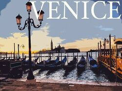Decoration Poster.Venice.Home Wall art.Travel shop.Dorm interior design.11384