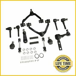 14x Suspension Control Arm Ball Joint Idler Arm Kit For F150 F250 Expedition 4wd